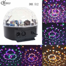 Dj DMX 512 Controller Party Lights Stage Light 9 Colors Led Par Moving Head Laser Disco Light Club Crystal Magic Ball Lumiere(China)