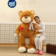 Love teddy bear plush toy bear large doll big plush bear huge teddy bear valentine's day present