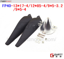 Freeshipping Size FP40-9*5-3.2 Aluminum Spinner With Propeller For RC Plane(China)