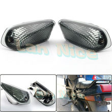 For KAWASAKI ZZR 400 1990-1992 Motorcycle Rear Turn signal Blinker Lens Smoke