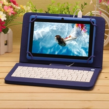 "iRULU eXpro X3 7"" Tablet Android 6.0 Tablet PC Allwinner A33 Quad Core 16GB 1024*600 HD With Blue EN Keyboard Support WIFI(China)"