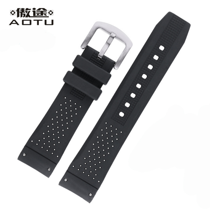 22mm Silicone Watch Straps For Tag Heuer CARRERA Men Sport Watchbands Male Clock Watch Band Bracelet Belt For Men Watch Strap<br>