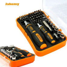 Buy JAKEMY multitool JM-6101 Magnetic Ratchet screwdriver Set home repair kit mobile phone tool iphone laptop electronic Tools for $31.85 in AliExpress store