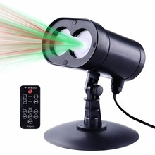 New Red & Green Alien Wireless Control Laser Christmas Lights, Outdoor Star Projector IP65 Waterproof christmas laser projector(China)