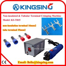 Direct Manufacturer Selling Portable Terminal Crimping Machine, Cable Connector Crimping Tools KS-T815+DHL FREE SHIP(China)