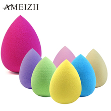 AMEIZII 1pc Makeup Foundation Sponge Cosmetic Puff Flawless Powder Smooth Beauty  Makeup Sponge Beauty Tools Waterdrop Puff