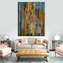Large size Printing Oil Painting wild horses Wall painting Home Decorative Wall Art Picture For Living Room painting No Frame