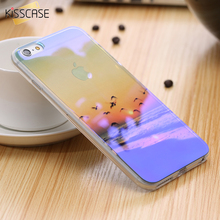 KISSCASE Luxury Mobile Phone Case For iPhone 6 6S iPhone 6 Plus 6S Plus Fashion Art Pattern Blue-Ray Clear Thin Cover i6 6S Case