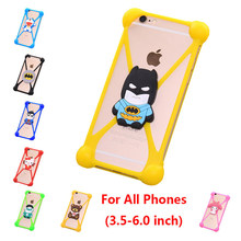 Fashion 3D Cute Cartoon Anti knock TPU Silicone Cell Phone Cases For Leagoo Elite 1 Elite1 Rubber Phone Case Cover Accessories