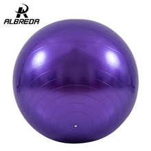 95CM smooth  yoga ball authentic proof bus slimming exercise environmental protection explosion-proof fitness Ball