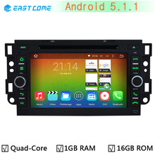 Android 5.1.1 Quad Core GPS Radio Stereo Car DVD for Chevrolet Daewoo Matiz Epica Spark Optra Captiva Tosca Aveo Kalos Gentra(China)