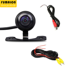 Waterproof Car Camera HD Car Rear View Camera Distance Scale Auto Parking Car Backup Reverse Camera Universal for BMW VW TOYATO(China)