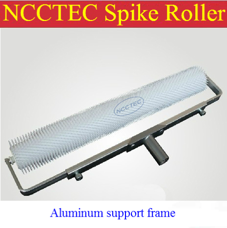 NCCTEC spike roller 20 inch 500mm spikes height :11mm ALUMINUM support handle frame<br><br>Aliexpress
