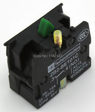 5pcs / lot NO ZB2-BE101C NC ZB2-BE102C contact block for ZB2-B series 22mm push button switch