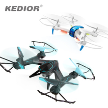 KEDIOR Hero 3 Multicopter Drone with Camera Live Video HD 720P FPV RC Quadcopter 13mins Flying Remote Helicopter Toys VS X8SW(China)