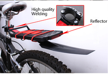 2016 New Bike Cycling Race MTB Road Saddle Rear Removable Bicycle Bracket Reflector Wings Fender Parts Accessories Shelf Trailer