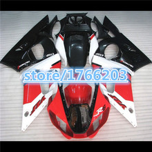 ABS Fairing Set for  YZF-R6 1998 2002 98-02 1998-2002 98 02 R6 99 00 01 red white black  YZF 98 02 YZF 98 02R6 1998-2002BBF