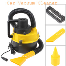 wholesale Portable Wet and Dry with Brush / Crevice / Nozzle Head Handheld Mini Auto Car Dust Vacuum Cleaner  Car Vacuum Cleaner