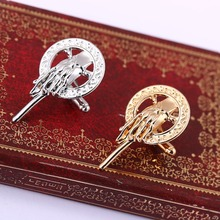H&F New Arrival Hot Selling Song of Ice and Fire Game of Thrones Hand Of The King Pin,Brooch pin for men and women wholesale