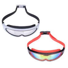 Shield Style Anti Fog Kids Swimming Goggles Outdoor Adjustable Children Eyeglasses For Girl / Boy Swim Glasses