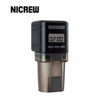 Nicrew Aquarium All-time automatic Feeder Fish Food Digital LCD Fish Tank Food Auto Timer dispenser Adjustable Practical feeding(China)