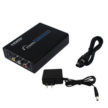 Wiistar HDMI to AV/S Video Converter HDMI to RCA/SVIDEO+S VIDEO Switcher Adaptor 1080P HD Free Shipping