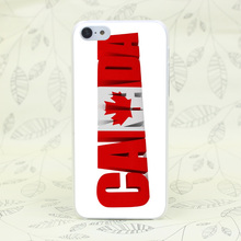 148F Canada Hard Transparent Case Cover for iPhone 7 7 Plus 4 4s 5 5s 5c SE 6 6s Plus