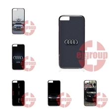 For Apple iPhone 4 4S 5 5C SE 6 6S 7 7S Plus 4.7 5.5 iPod Touch 4 5 6 audi car logo Case Accessories