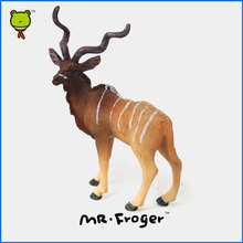 Mr.Froger Addax Model Zoo Wild animals toys set modeling Figure Figurine Collection Classic Cute Decoration Teaching Tools toy