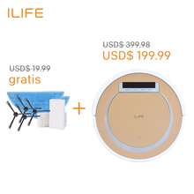 ILIFE X5 Robot Vacuum CleanerAutomatic Sweeping Intelligent Cleaning Microfiber Dust Cleaner  with Virtual Wall