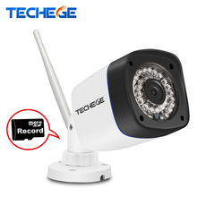 Techege 720P 960P WIFI IP Camera HD 1.0MP 1.3MP wifi camera Night Vision Outdoor w TF Card Slot CCTV Camera Motion Detection
