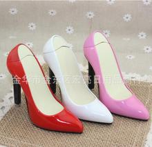 Inflatable mini high-heeled shoes lighter  gas lighter simulation Creative metal flame lighters accessories