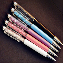 Stylish 2-in-1 Crystal Touch Screen Stylus Write Pen For iPhone iPad Tablet HTC(China)