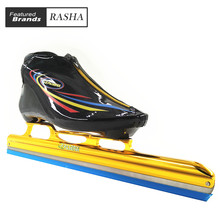 PASENDI Speed Skating Shoes long track ice skateice skating shoes black white roller skates for Hockey shooes Ice shoes(China)