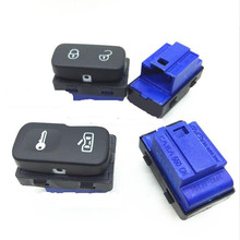 For  Octavia Mk2 Yeti 2004-2013 Central Door Lock System Switch Button Black 1Z0 962 125A / 1ZD 962 125A