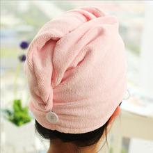 1pcs Quick-Dry Hair Towel Hair-drying Ponytail Holder Cap Towel Microfiber Hair Towel