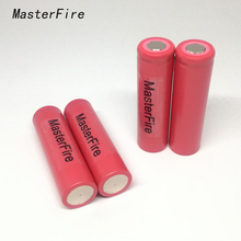 10pcs/lot New Original MasterFire 18650 UR18650w2 1500mAh 3.7v Li-Ion Battery Rechargeable Batteries For SANYO(China)