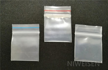 1000pcs 3.5x4cm Super thick Small PE Ziplock bags, Clear plastic pouches zipper reusable gift/jewelry packing pouch ploy sachet