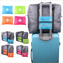 Large Capacity Travel Bag Waterproof Nylon Folding Bag Unisex Luggage Traveling Handbags Portable bag luggage Air Bag