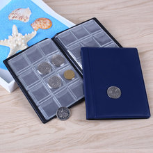 2017 Practical Coins Album Book Penny Specie Collection Holders Storage Pocket Coins Folder Holder Numismatique Album