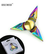 fidget hand spinner bearing ball golden zinc alloy hand spinner fidget spinner for Autism and ADHD Fidget Spinner Professional