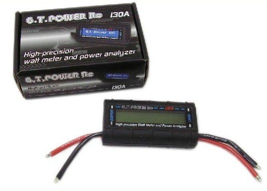 100% Brand New 130A power tester Precision Walt Meter and Power Analyzer for rc model +free shipping<br>