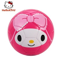 Hello Kitty Size 2# Children Football Child Soccer 15cm Kid Small Soccer Red Ball Outdoor Sport Fun Family Game H664-MM(China)