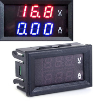 New DC 100V 10A Digital Voltmeter Ammeter Dual Blue Red LED Display Digital Volt Amp Meter Voltage Current Measuring Instrument(China)