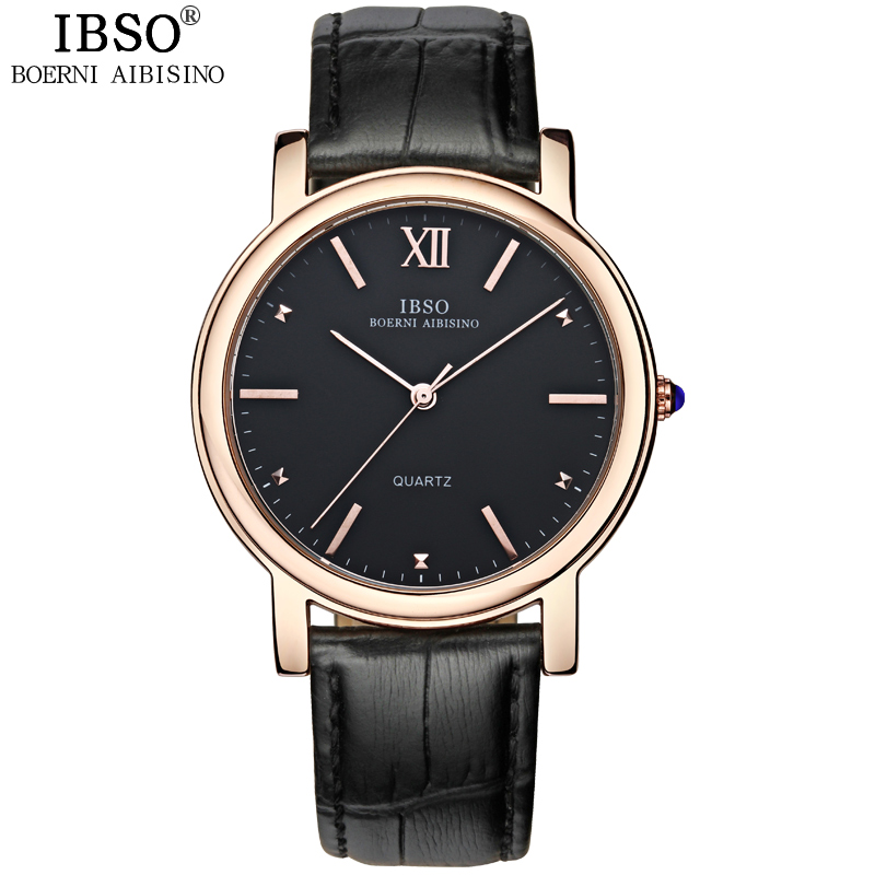IBSO Business Original Top Brand Quartz-watch Men Family Leisure Leather Band Men Watches Office Luxury Relogio Masculino 2016<br><br>Aliexpress