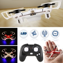 2 Colors 4 Channel 4 Axis Nano RC Quadcopter Small Quad Mini Drone UFO R/C Helicopter Toy Free Shipping(China)