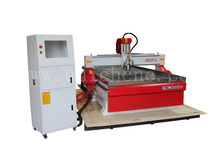 Cheap 4 Axis Milling CNC MACHINE with vacuum table for wood, pvc, acrylic aluminum(China)
