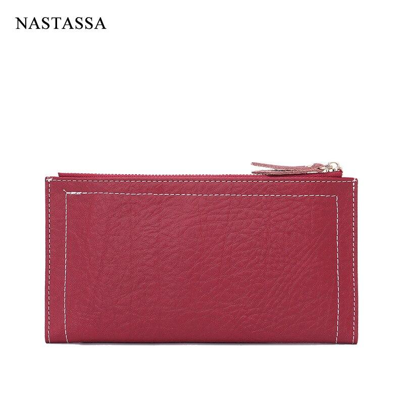 Women Wallet Genuine Leather Female Purse Zipper &amp; Hasp Card Holder Porte Monnaie Femme Marque<br><br>Aliexpress