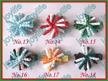"free shipping 280pcs Girl 1.5"" korker hair bows Tiny korker hair clips mini hair bows hair clips(China)"