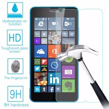 9H Hardness Tempered Glass For Microsoft Nokia Lumia 640 LTE 640 Dual SIM 640 Screen Protector Explosion-Proof Film + Clean Kits